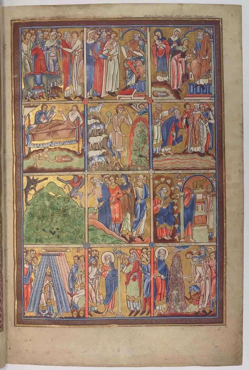Свет из глубины веков: 800 «иллюминированных» манускриптов Средневековья в свободном доступе 35