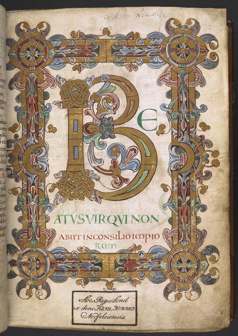 Свет из глубины веков: 800 «иллюминированных» манускриптов Средневековья в свободном доступе 45