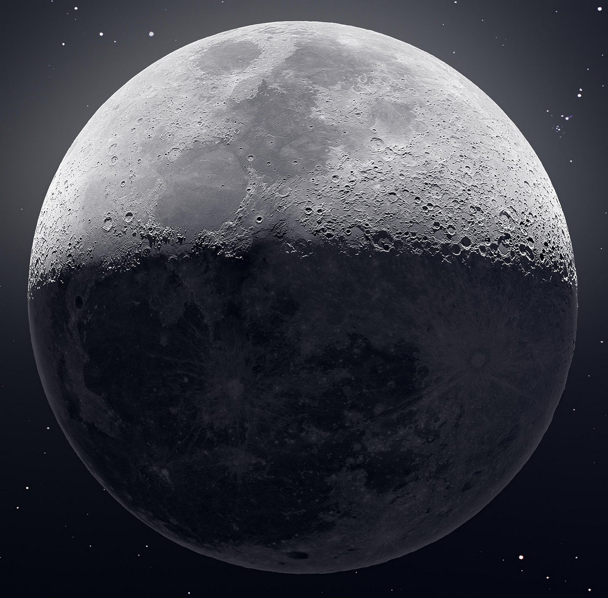 81 megapikselnaya fotografiya Luny 1