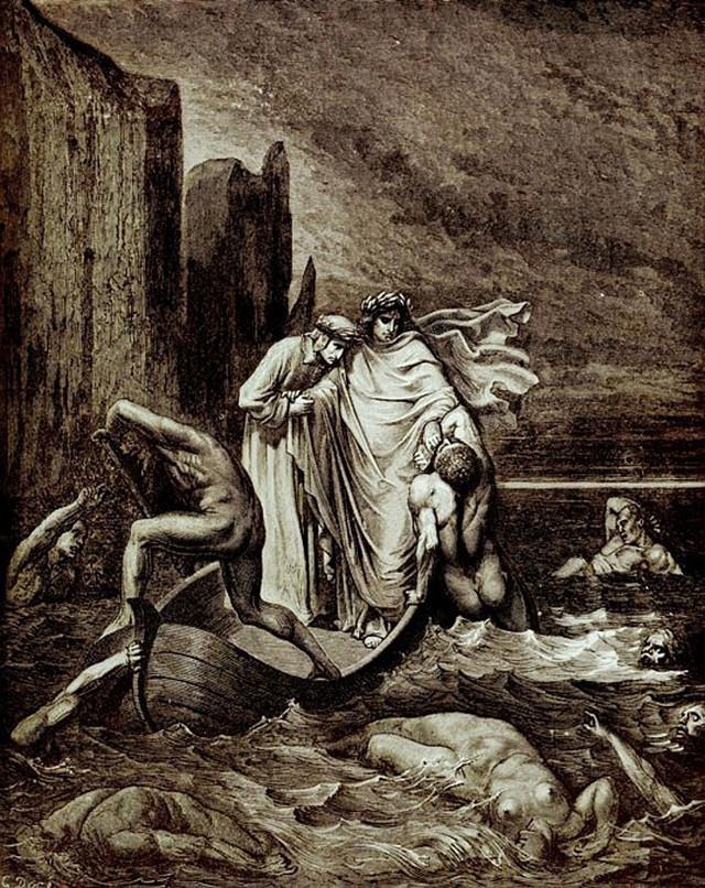 «Божественная комедия» Данте в мистических гравюрах Гюстава Доре 10