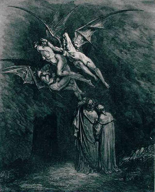 «Божественная комедия» Данте в мистических гравюрах Гюстава Доре 12