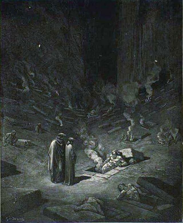 «Божественная комедия» Данте в мистических гравюрах Гюстава Доре 13