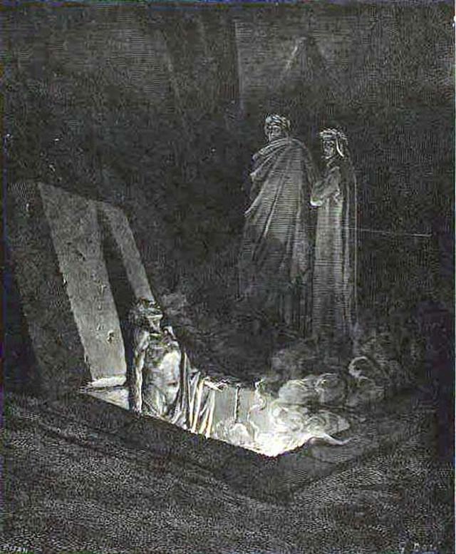 «Божественная комедия» Данте в мистических гравюрах Гюстава Доре 14