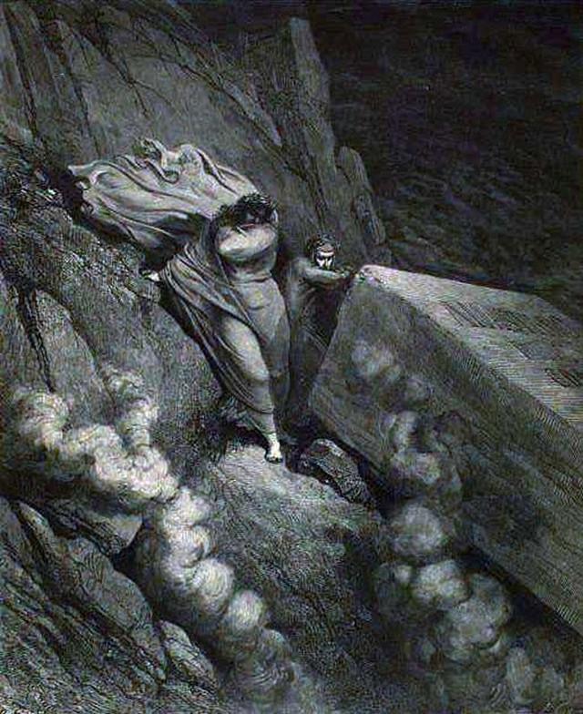«Божественная комедия» Данте в мистических гравюрах Гюстава Доре 15