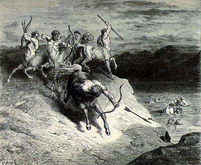 «Божественная комедия» Данте в мистических гравюрах Гюстава Доре 17