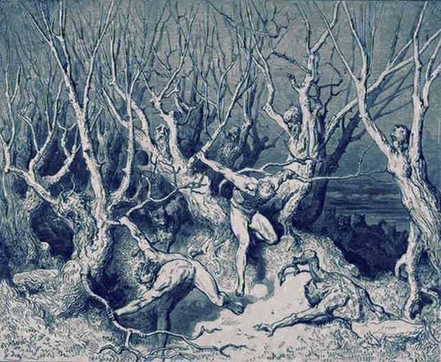 «Божественная комедия» Данте в мистических гравюрах Гюстава Доре 20