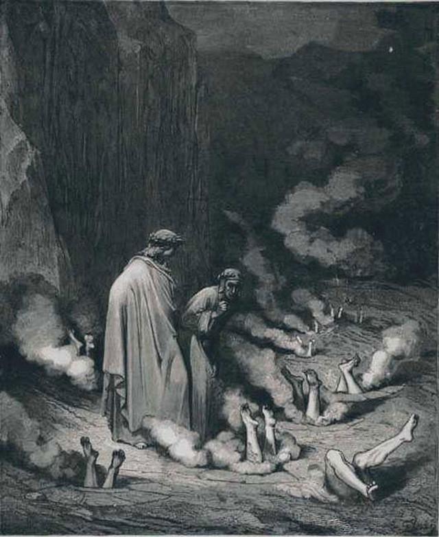 «Божественная комедия» Данте в мистических гравюрах Гюстава Доре 25