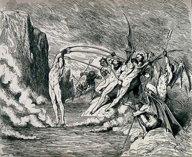 «Божественная комедия» Данте в мистических гравюрах Гюстава Доре 26