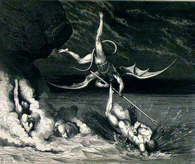 «Божественная комедия» Данте в мистических гравюрах Гюстава Доре 27