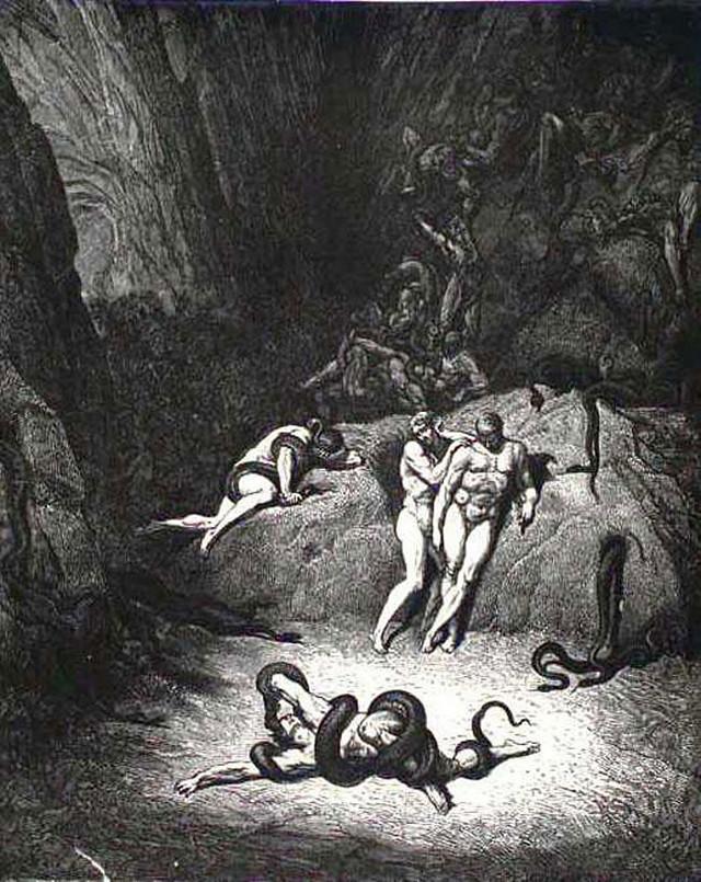 «Божественная комедия» Данте в мистических гравюрах Гюстава Доре 30