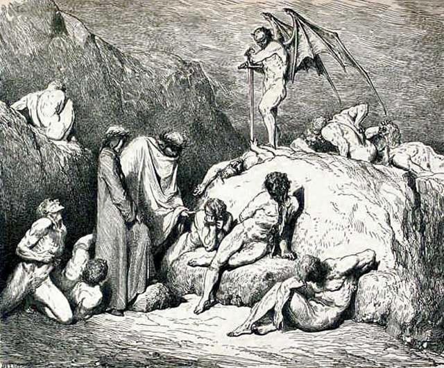 «Божественная комедия» Данте в мистических гравюрах Гюстава Доре 31