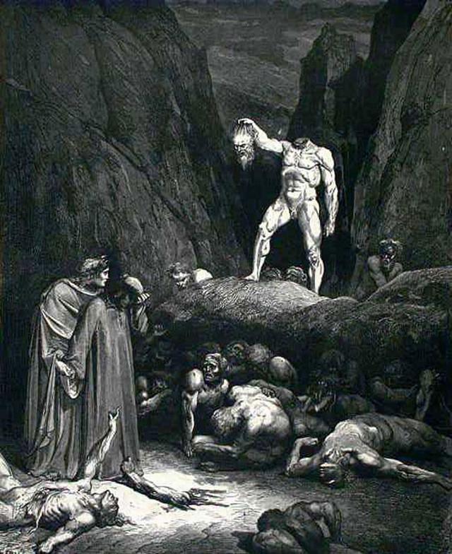 «Божественная комедия» Данте в мистических гравюрах Гюстава Доре 32