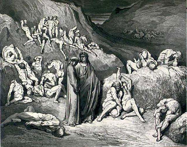 «Божественная комедия» Данте в мистических гравюрах Гюстава Доре 34