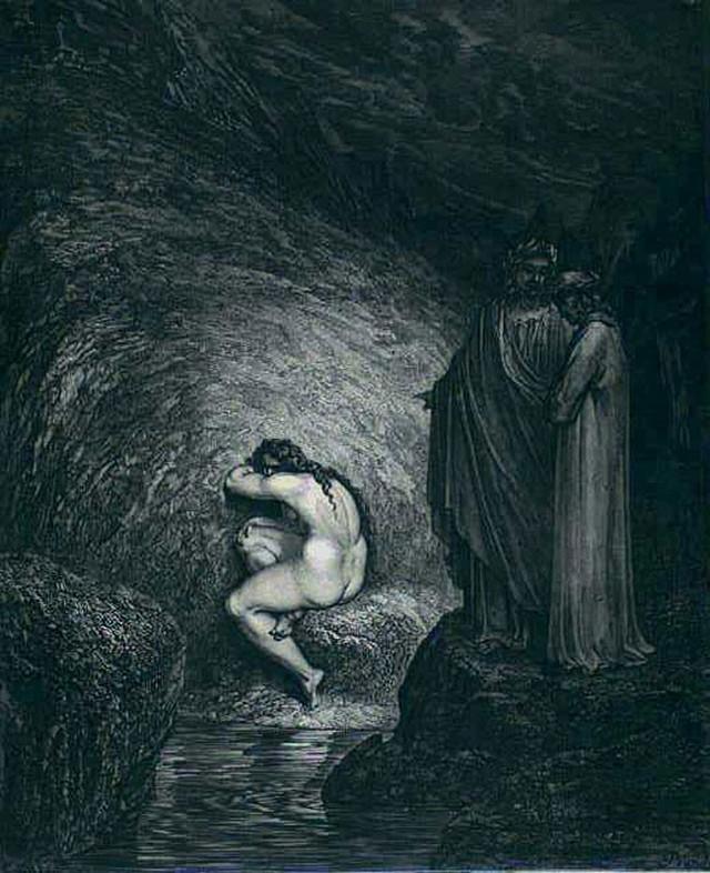 «Божественная комедия» Данте в мистических гравюрах Гюстава Доре 35