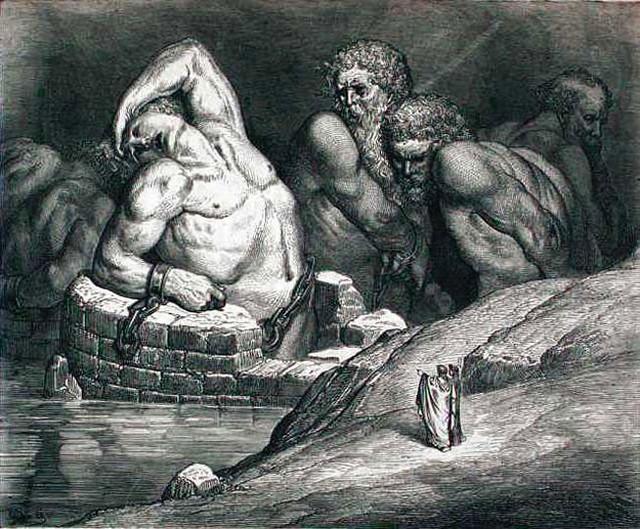 «Божественная комедия» Данте в мистических гравюрах Гюстава Доре 37