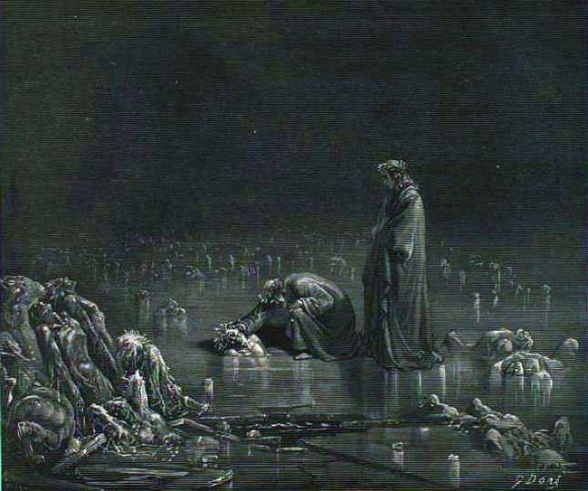 «Божественная комедия» Данте в мистических гравюрах Гюстава Доре 38