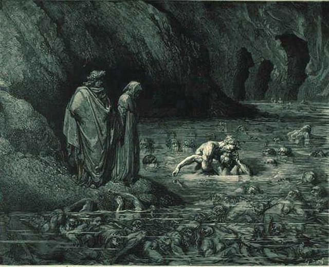 «Божественная комедия» Данте в мистических гравюрах Гюстава Доре 39