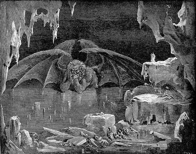 «Божественная комедия» Данте в мистических гравюрах Гюстава Доре 40