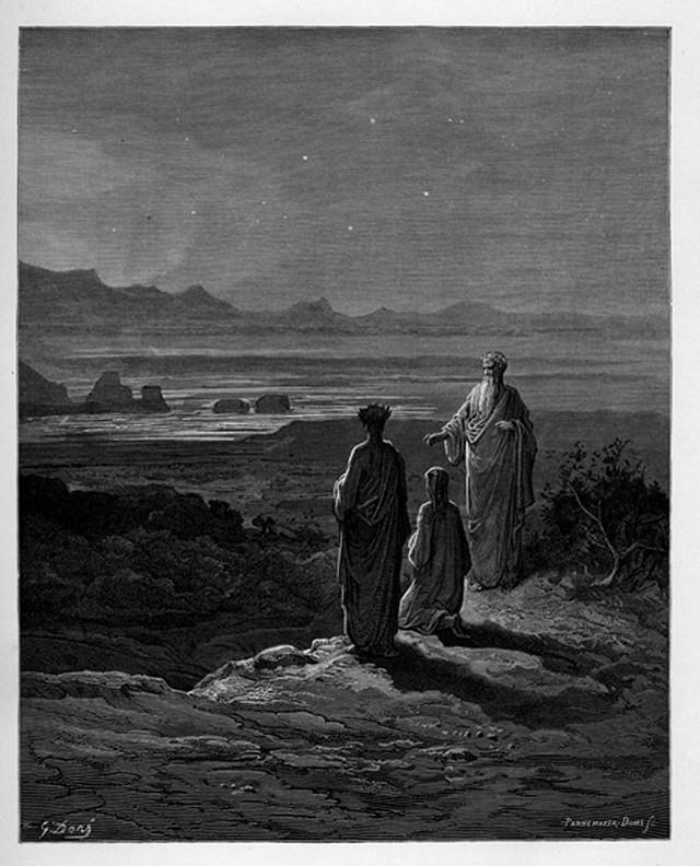 «Божественная комедия» Данте в мистических гравюрах Гюстава Доре 41