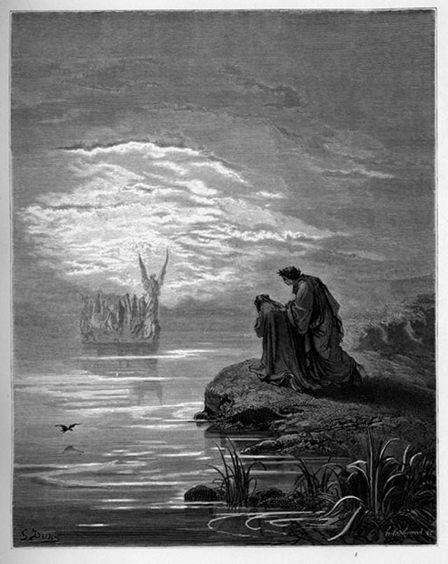 «Божественная комедия» Данте в мистических гравюрах Гюстава Доре 42