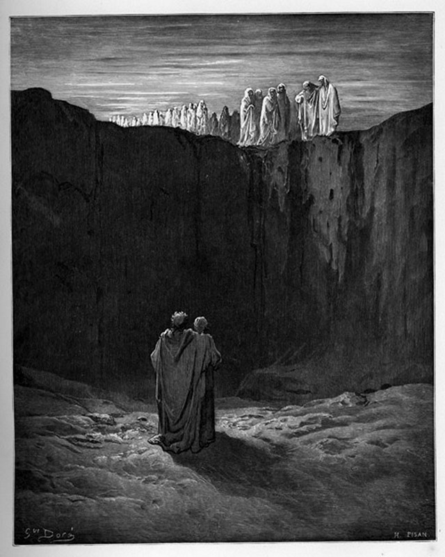 «Божественная комедия» Данте в мистических гравюрах Гюстава Доре 44