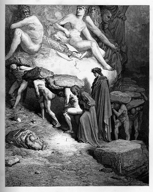 «Божественная комедия» Данте в мистических гравюрах Гюстава Доре 52