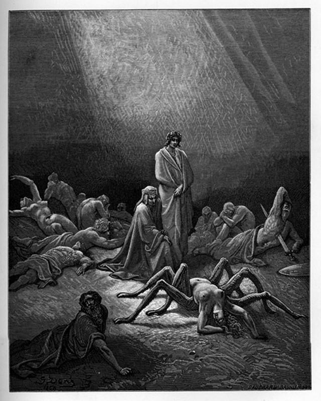 «Божественная комедия» Данте в мистических гравюрах Гюстава Доре 53
