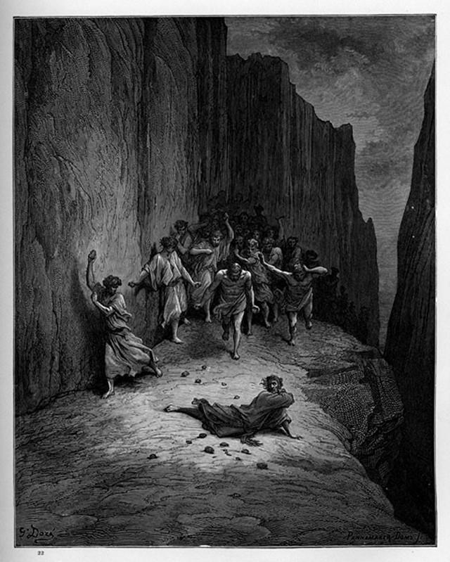 «Божественная комедия» Данте в мистических гравюрах Гюстава Доре 56