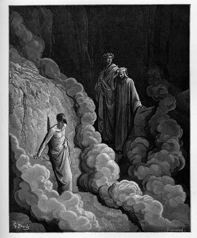 «Божественная комедия» Данте в мистических гравюрах Гюстава Доре 57