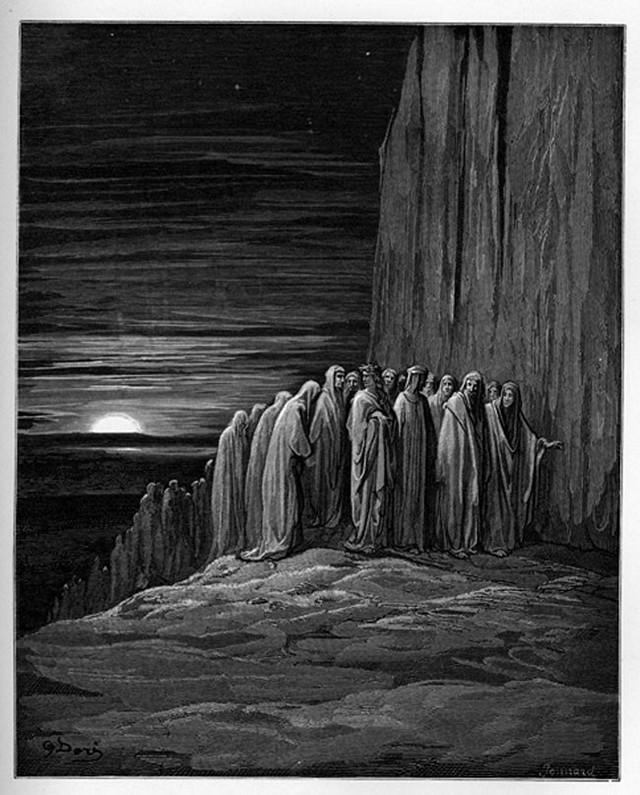 «Божественная комедия» Данте в мистических гравюрах Гюстава Доре 59