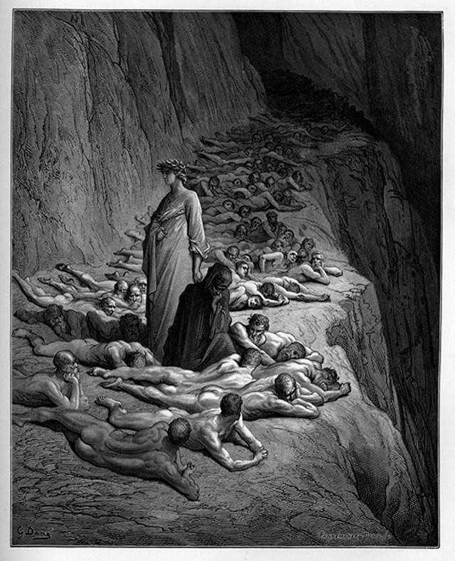 «Божественная комедия» Данте в мистических гравюрах Гюстава Доре 60