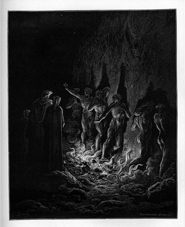 «Божественная комедия» Данте в мистических гравюрах Гюстава Доре 61
