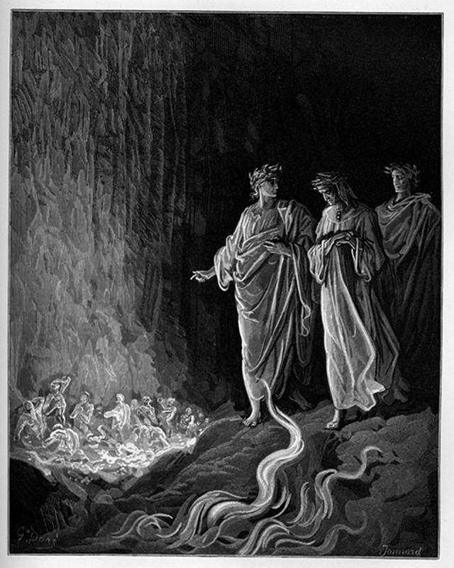 «Божественная комедия» Данте в мистических гравюрах Гюстава Доре 62