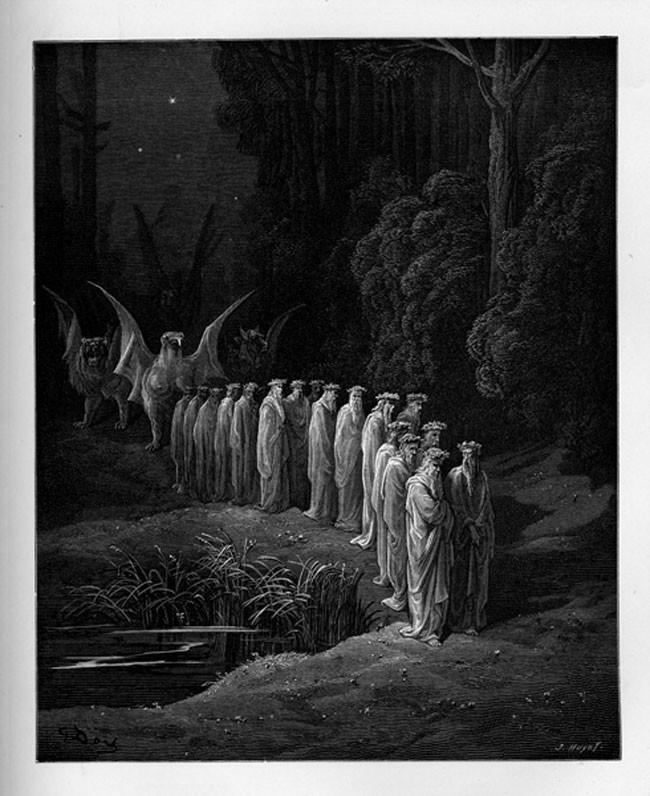 «Божественная комедия» Данте в мистических гравюрах Гюстава Доре 65