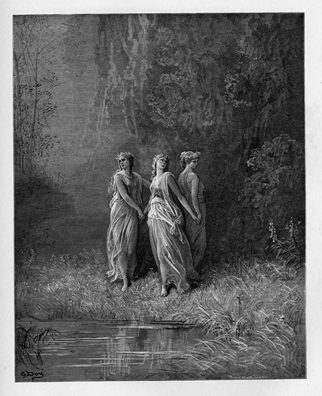 «Божественная комедия» Данте в мистических гравюрах Гюстава Доре 66