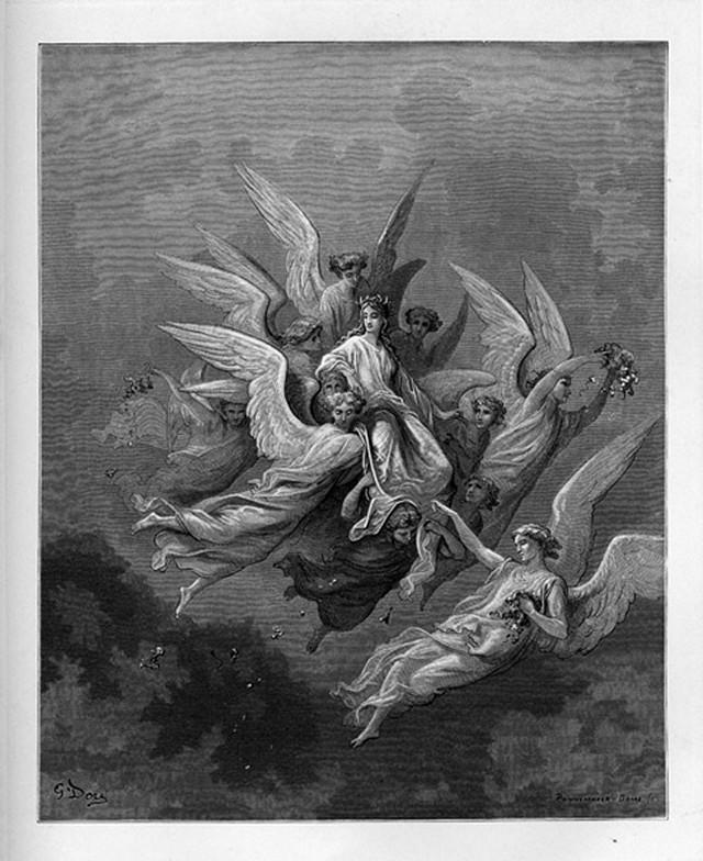 «Божественная комедия» Данте в мистических гравюрах Гюстава Доре 68
