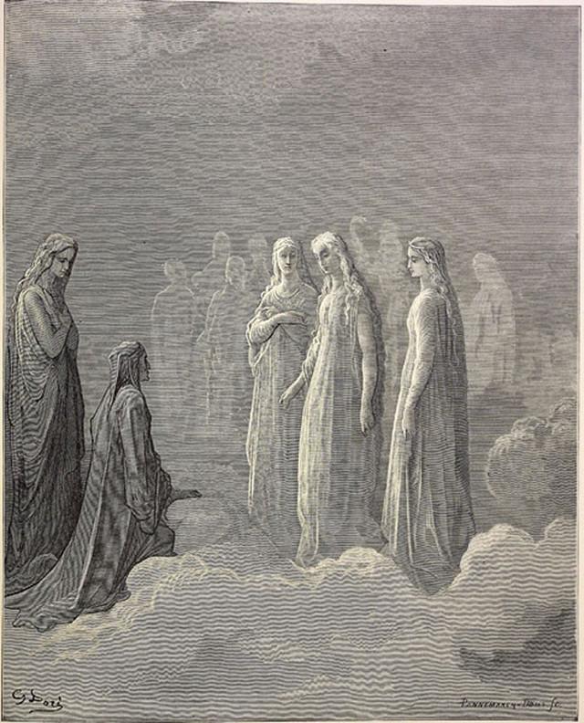 «Божественная комедия» Данте в мистических гравюрах Гюстава Доре 71