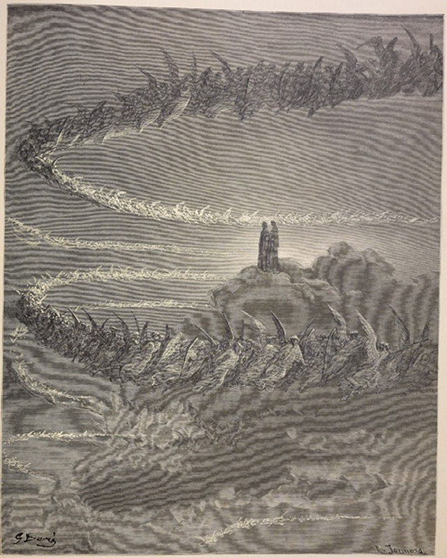 «Божественная комедия» Данте в мистических гравюрах Гюстава Доре 78