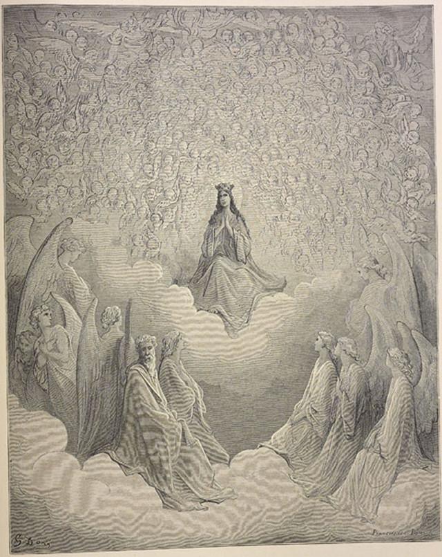 «Божественная комедия» Данте в мистических гравюрах Гюстава Доре 87