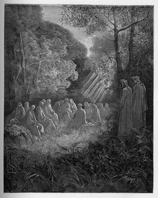 «Божественная комедия» Данте в мистических гравюрах Гюстава Доре49