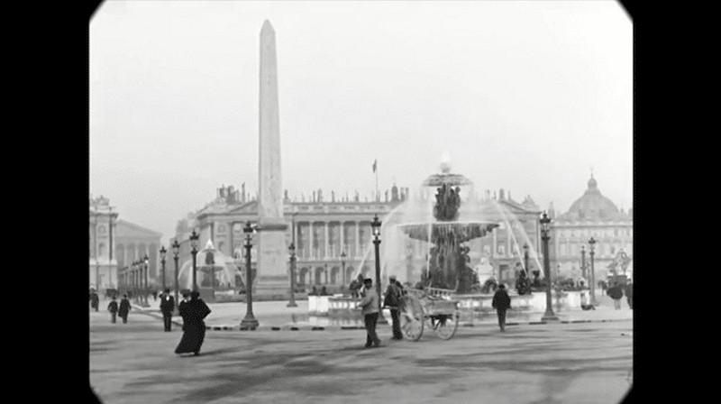 Синематограф братьев Люмьер. Променад по Парижу конца XIX века3