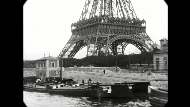 Синематограф братьев Люмьер. Променад по Парижу конца XIX века7