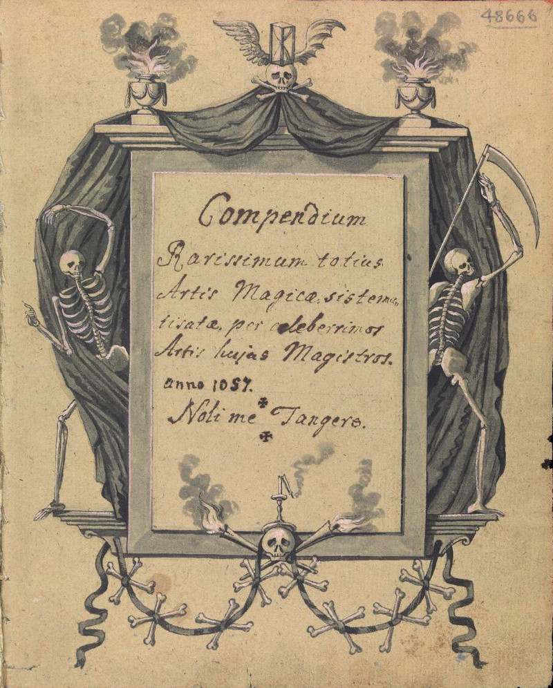 Сборник по демонологии и магическому искусству 18 века – редкая книга в свободном доступе 1
