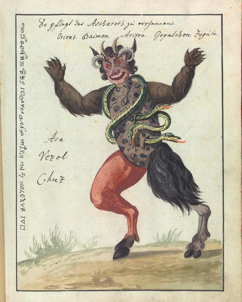 Сборник по демонологии и магическому искусству 18 века – редкая книга в свободном доступе 10