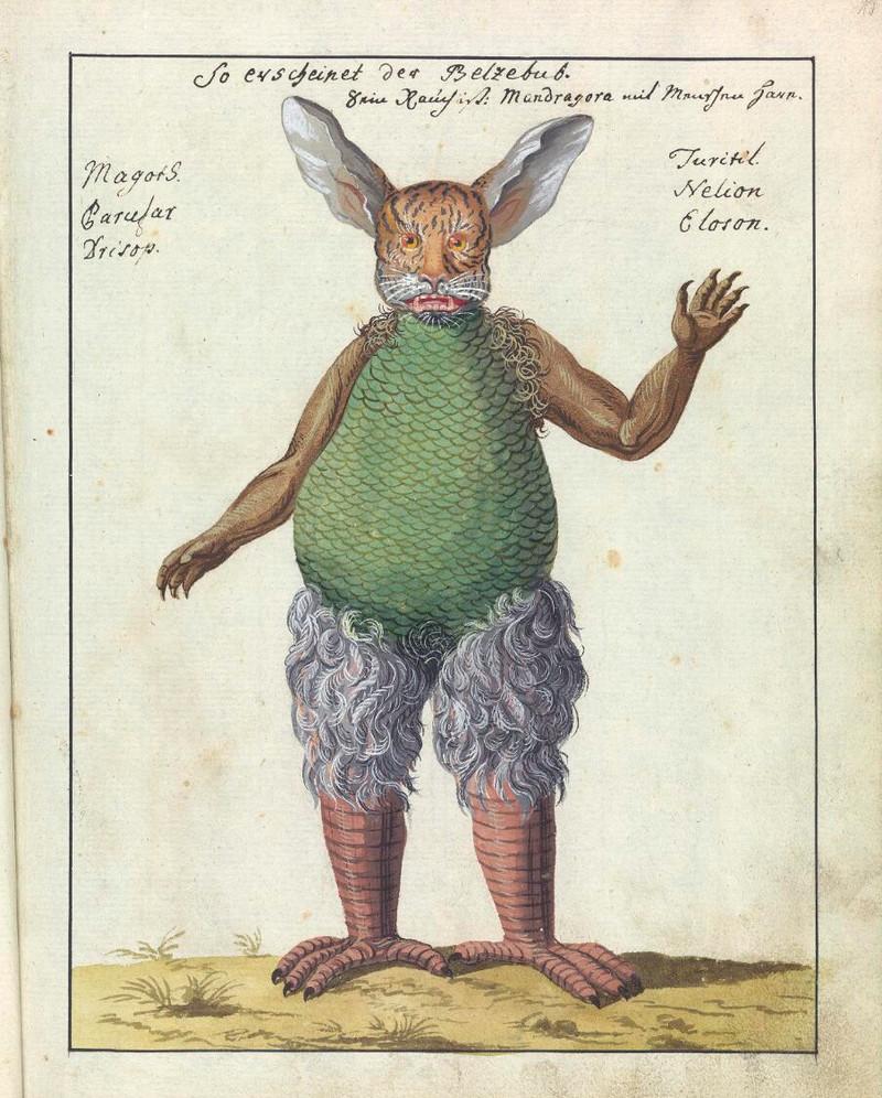 Сборник по демонологии и магическому искусству 18 века – редкая книга в свободном доступе 12