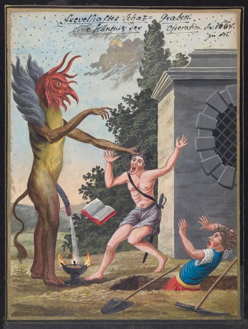 Сборник по демонологии и магическому искусству 18 века – редкая книга в свободном доступе 13
