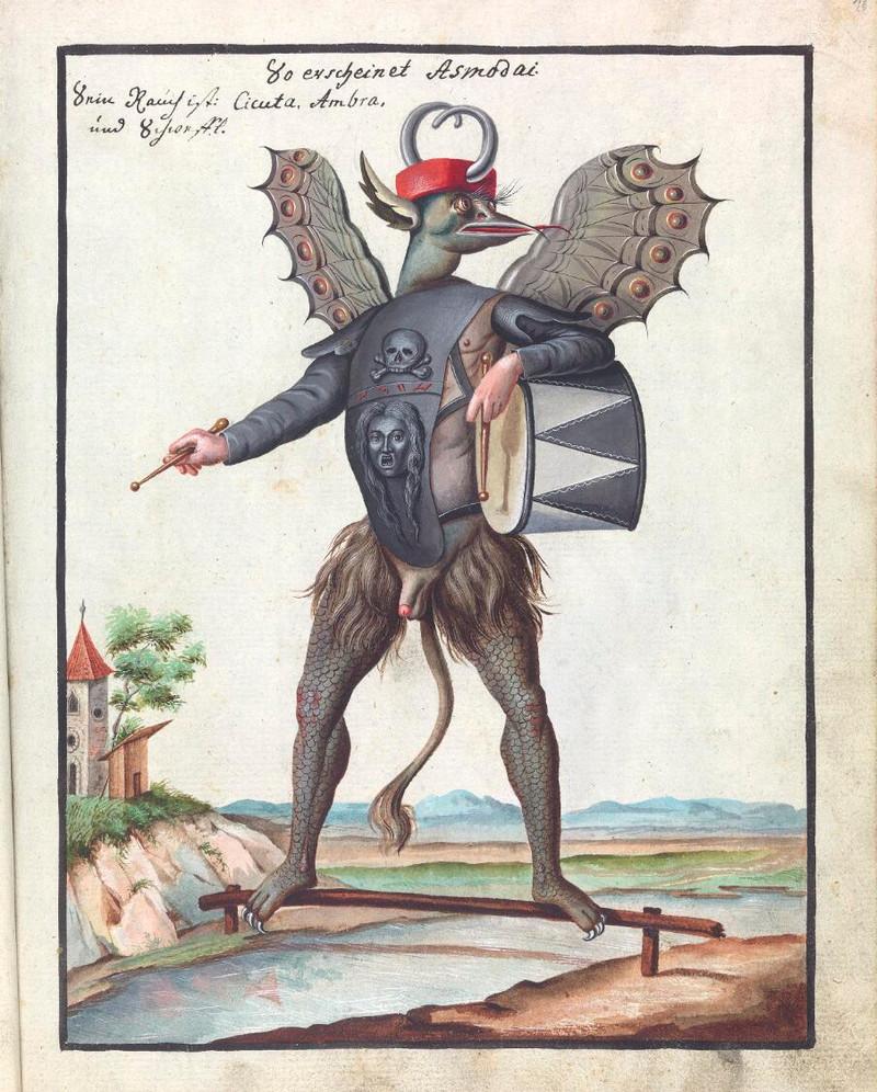 Сборник по демонологии и магическому искусству 18 века – редкая книга в свободном доступе 15
