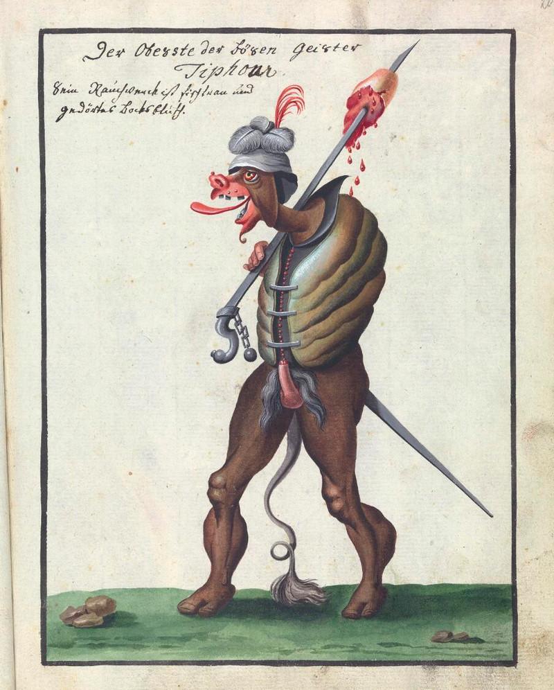 Сборник по демонологии и магическому искусству 18 века – редкая книга в свободном доступе 17