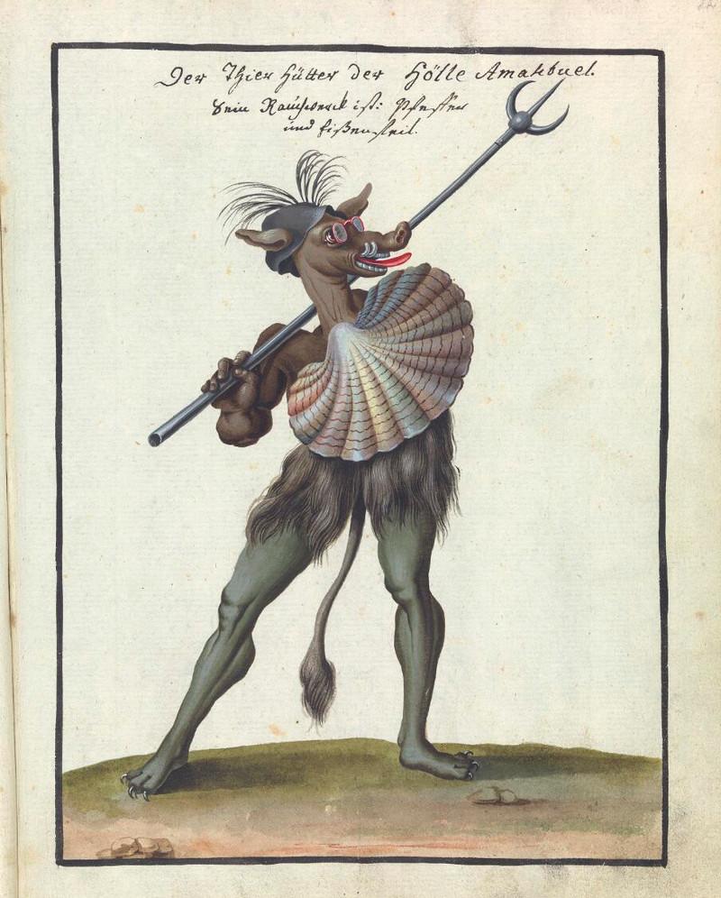 Сборник по демонологии и магическому искусству 18 века – редкая книга в свободном доступе 19