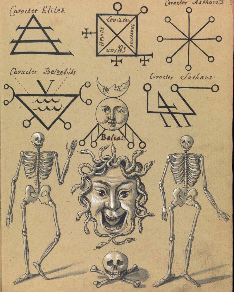 Сборник по демонологии и магическому искусству 18 века – редкая книга в свободном доступе 2